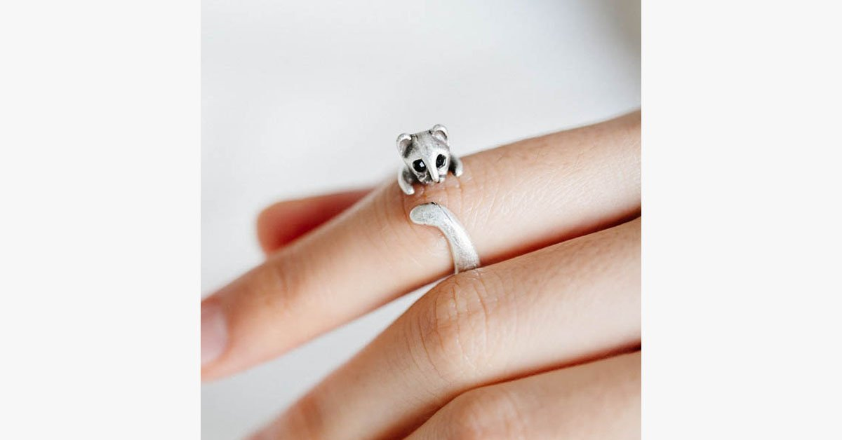 Silver Plated Cat Ring - FREE SHIP DEALS