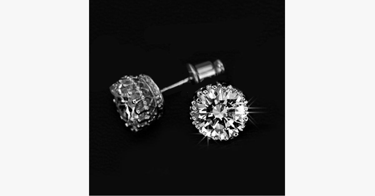 Austrian Crystal Stud Earring - FREE SHIP DEALS
