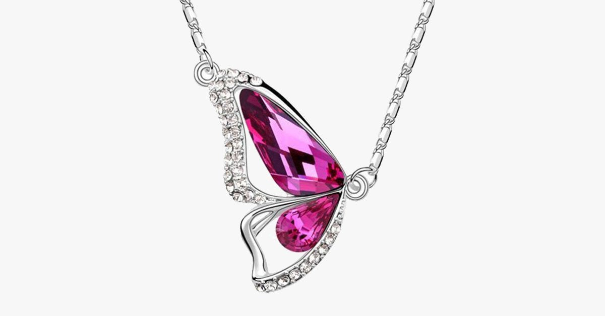 Radiant Wing Florence Crystal Pendant - FREE SHIP DEALS