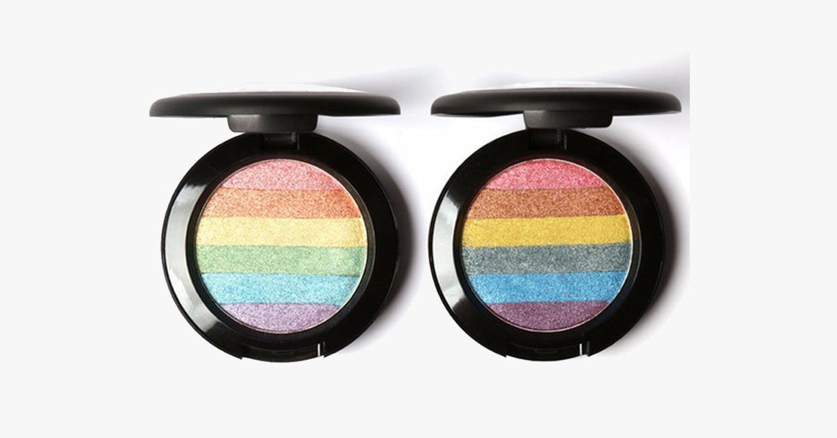 Rainbow Prism Highlighter - FREE SHIP DEALS