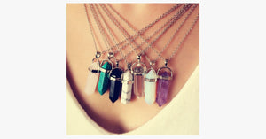 Colored Quartz Pendant - FREE SHIP DEALS