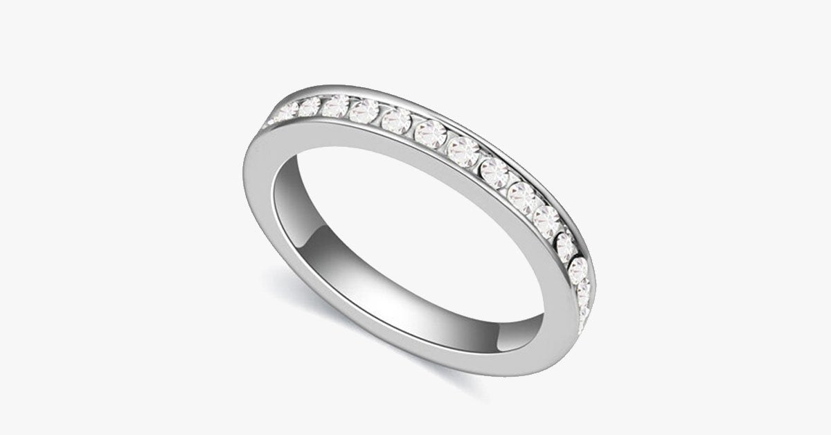 Eternity Band Ring - FREE SHIP DEALS