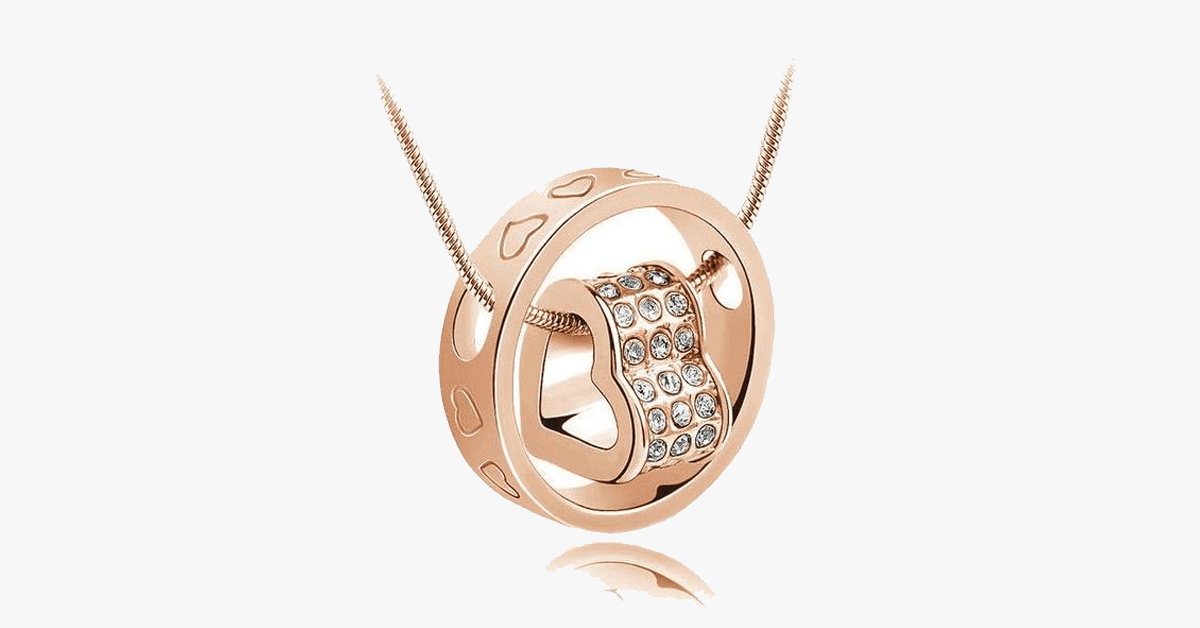 Forever Heart Pendant - Yellow Gold - FREE SHIP DEALS