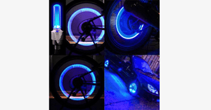 2 Pack - Motion Activated LED Valve Stem Lights - Assorted Colors - FREE SHIP DEALS
