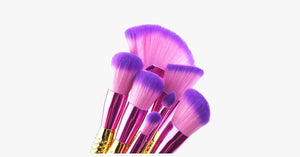 Big Fan Mermaid Tail Brush Set - FREE SHIP DEALS