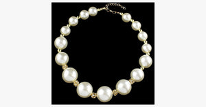Big Pearl Statement Necklace - FREE SHIP DEALS