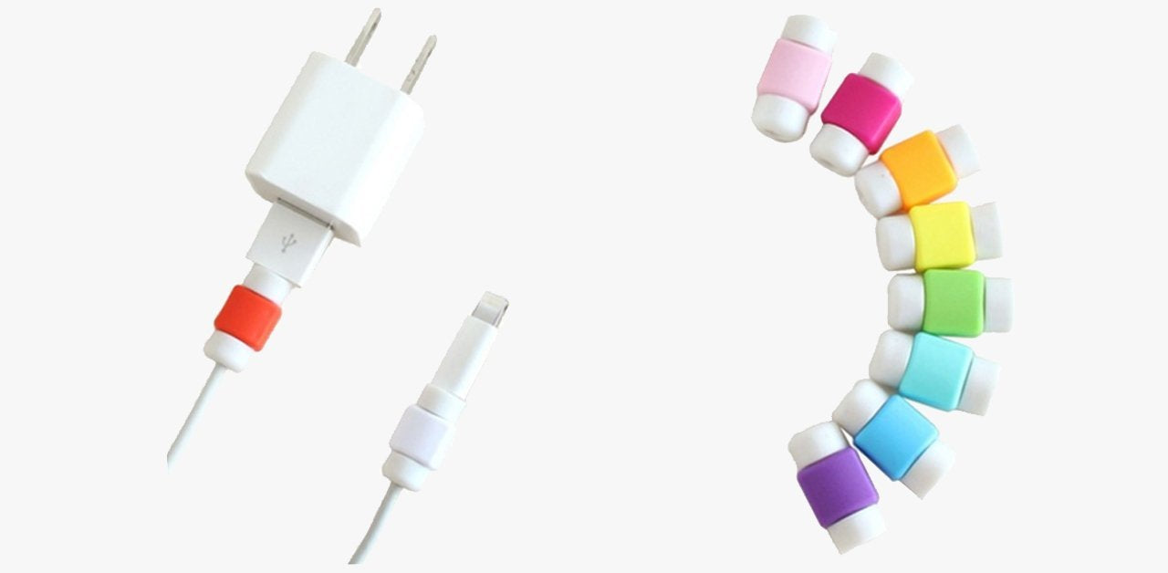 Lightning Cable Protectors – Protect Your Cables From Any Damage!