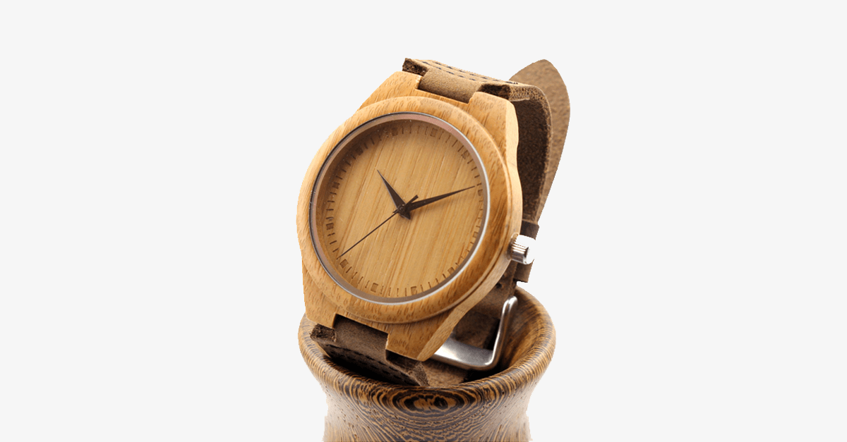 Bamboo Watch - FREE SHIP DEALS