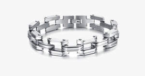 Heavy Tech Stainless Steel Men's Bracelet - FREE SHIP DEALS