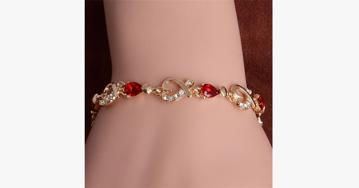 Heart Drop Bracelet - FREE SHIP DEALS