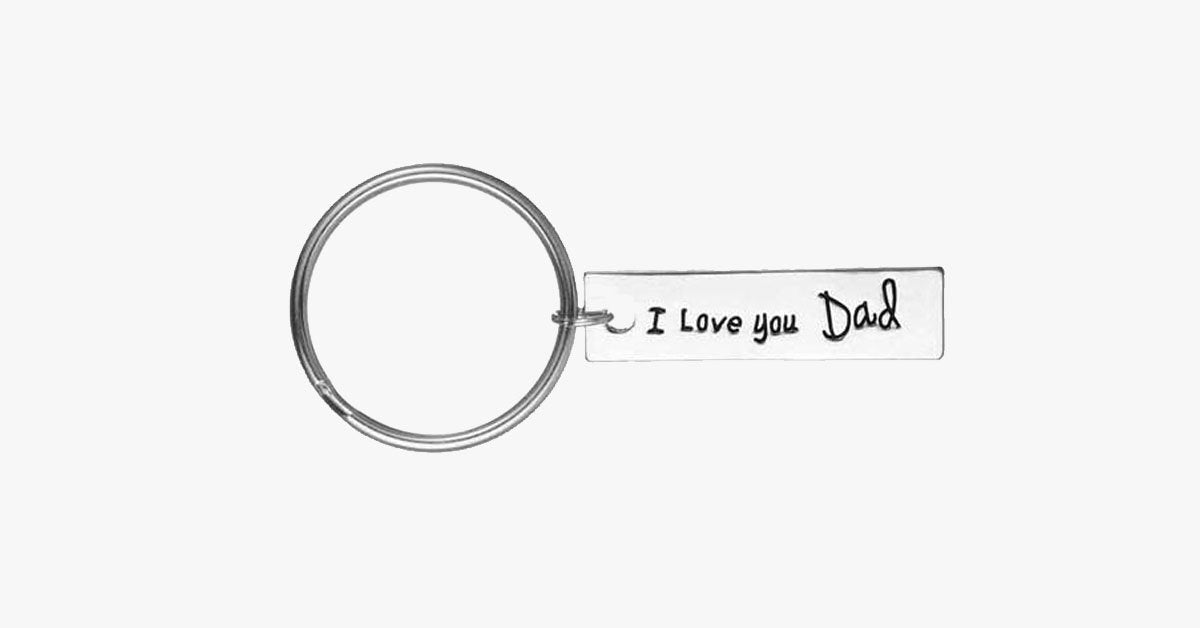 I Love You Dad Keychain - FREE SHIP DEALS