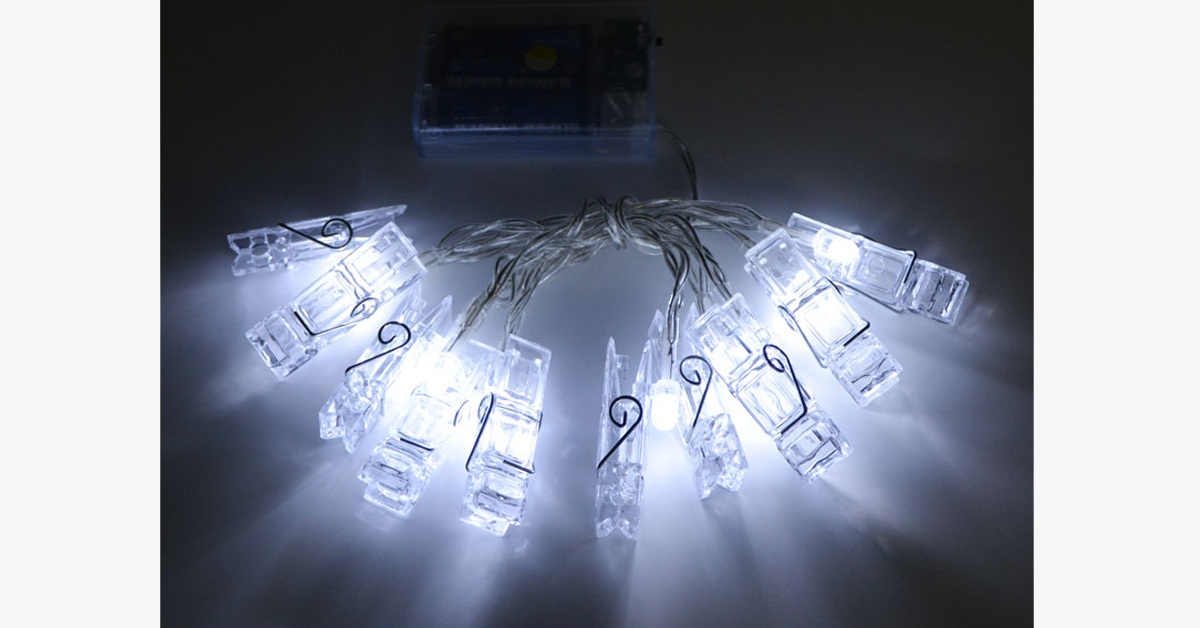 LED Hanging Photo Clips String Light - FREE SHIP DEALS