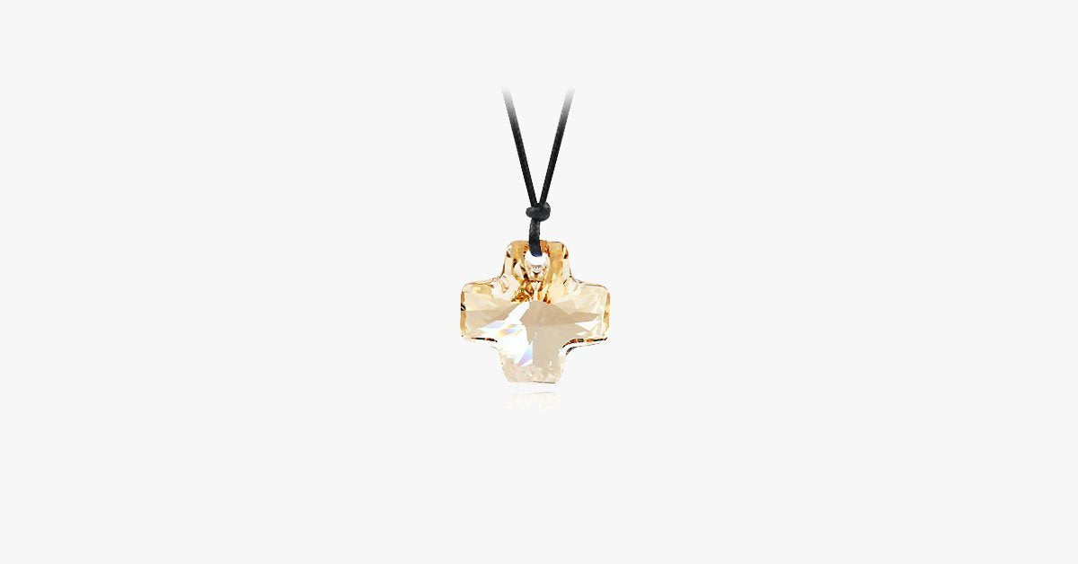 Cross Florence Crystal Pendant - FREE SHIP DEALS