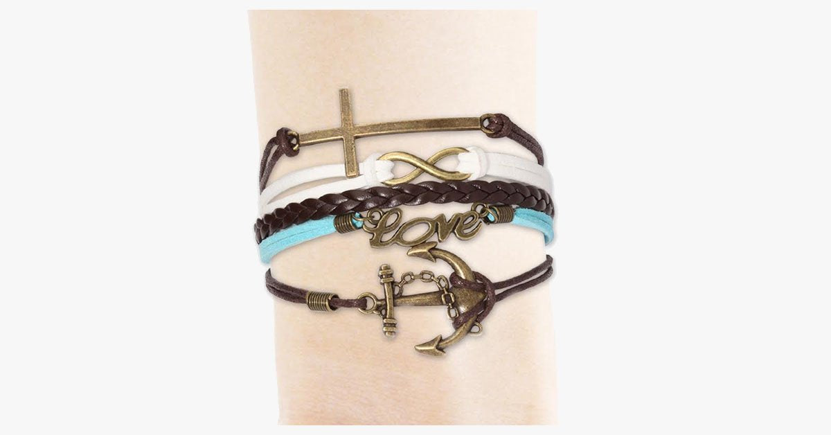 Cross Infinity Love Anchor - FREE SHIP DEALS
