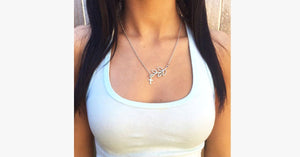 Leaf Cross Pendant - FREE SHIP DEALS
