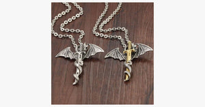 Dragon Sword Men's Stainless Steel Pendant - FREE SHIP DEALS