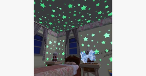 Glow In The Dark Fluorescent Wall Stickers - FREE SHIP DEALS
