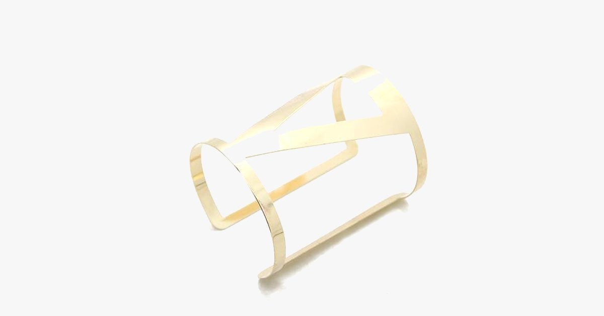 Geometirc Cuff Bangle - FREE SHIP DEALS