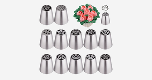 Russian Piping Tip Nozzle Set