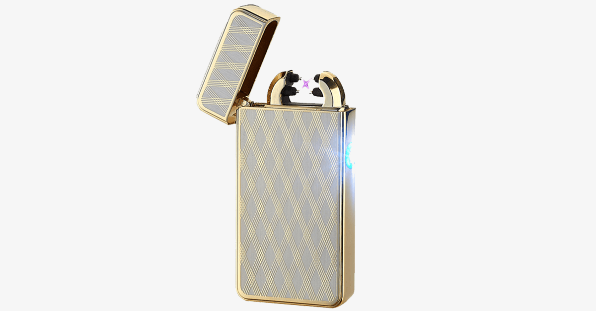 Golden Morning Rechargeable Windproof Lighter - FREE SHIP DEALS
