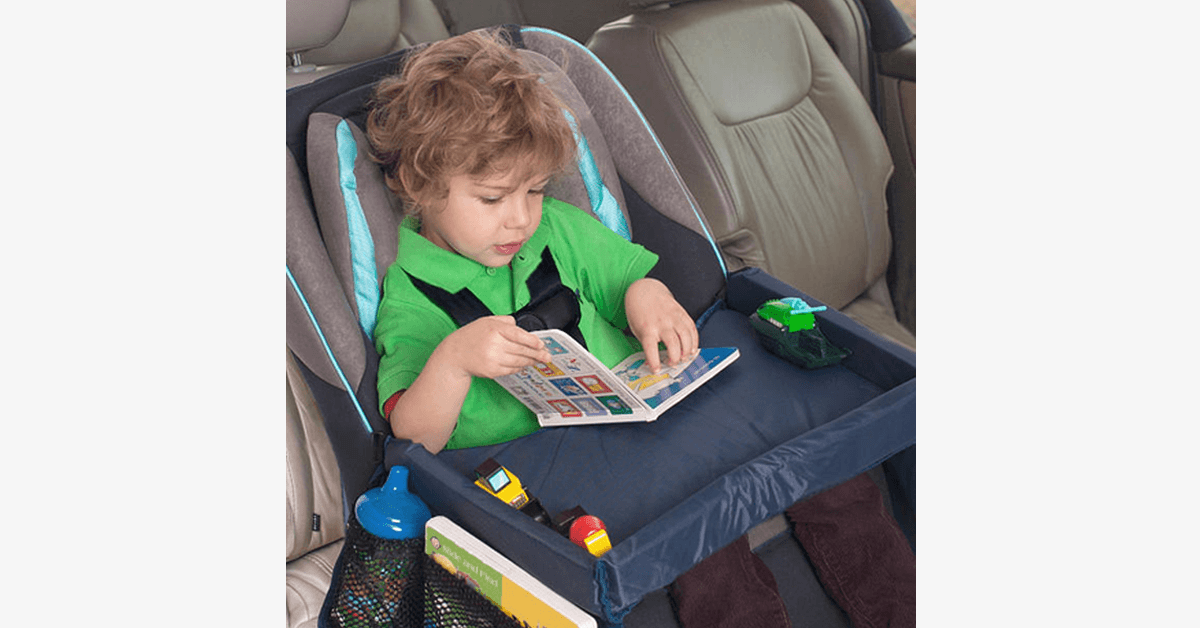 Kids Car Seat Travel Play Tray - FREE SHIP DEALS
