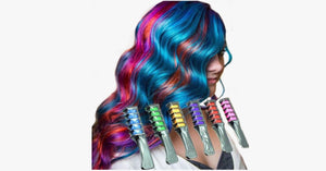 6pc Shimmer Hair Chalk Comb - FREE SHIP DEALS