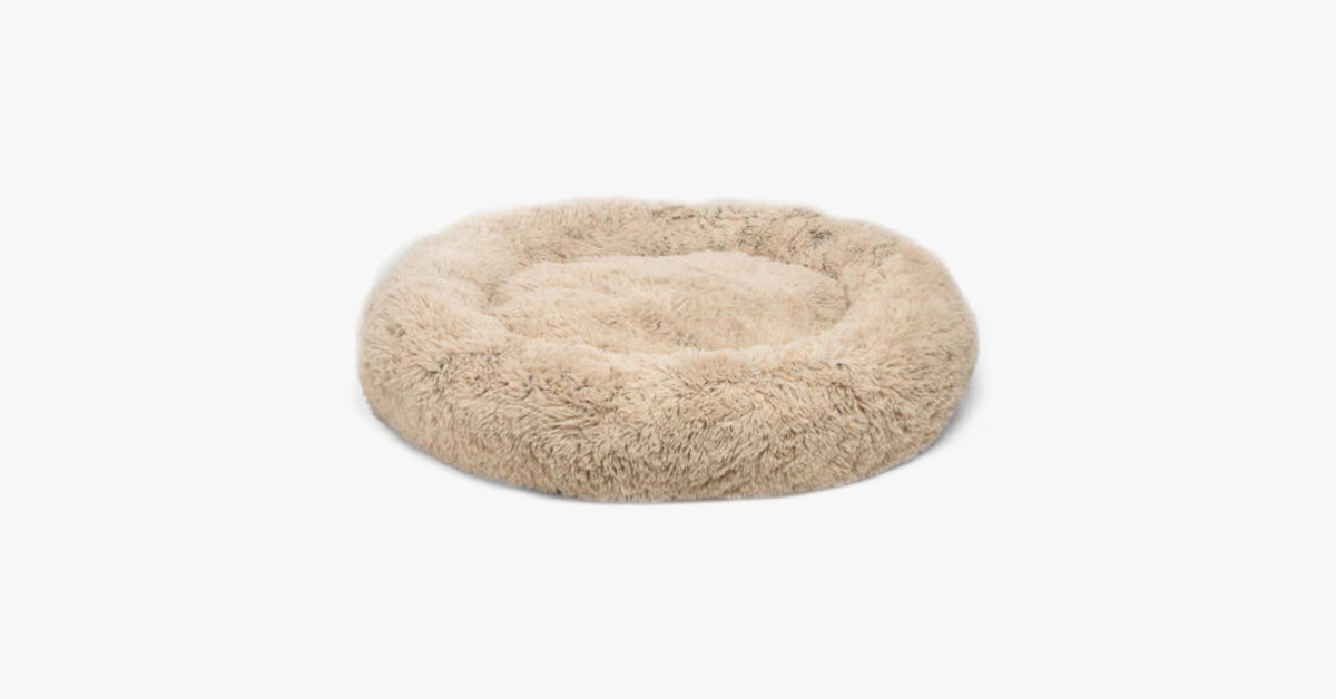 Comfy Furry Faux Bed