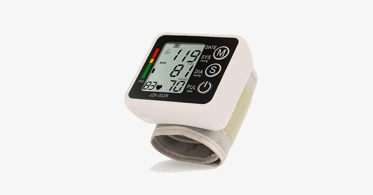 Electronic Blood Pressure Monitor – Check Your Blood Pressure Easily
