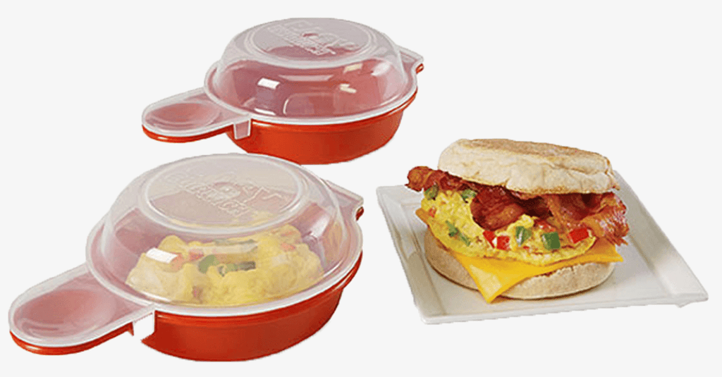 2-Pack Easy Microwave Egg Cooker - FREE SHIP DEALS