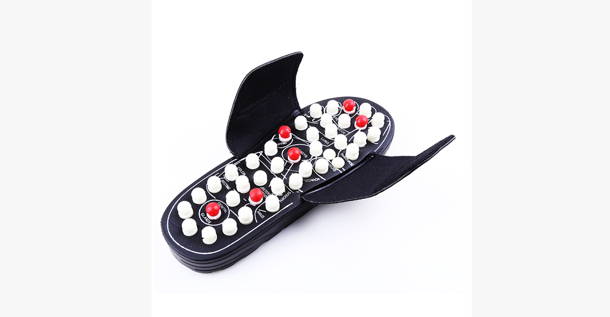 Massage Slippers for Heels Pain - Enhances Blood Circulation and Provides Relief