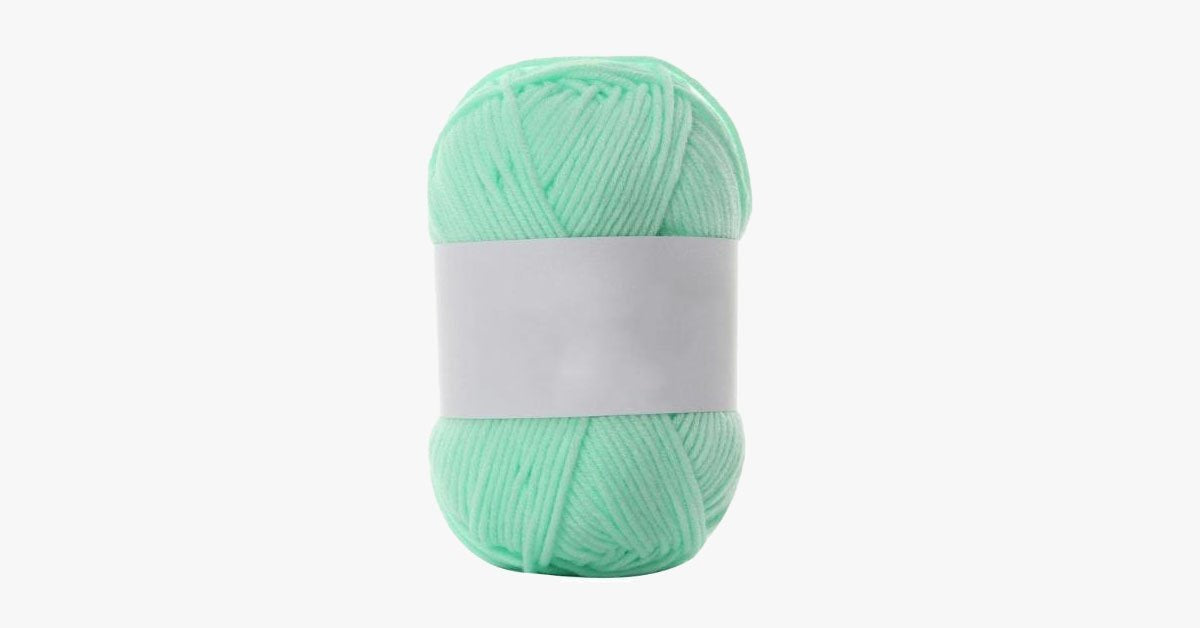 Milk Cotton Knitting yarn