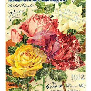 1ST GENERATION Decor Transfer - Floral Treasures 11x14