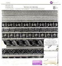 Load image into Gallery viewer, 1ST GENERATION MEDIUM TRIMS 12×12 DECOR STAMP-