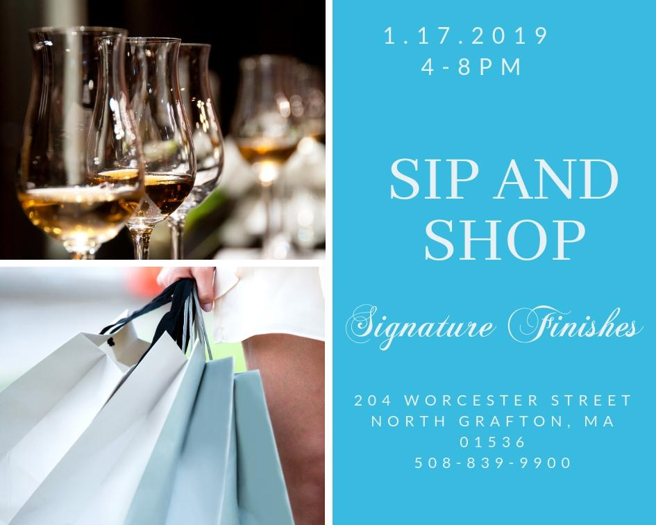 Sip and Shop R.S.V.P.