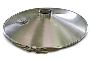 Stainless Steel Domed Cover Assembly - ScreenerKing®