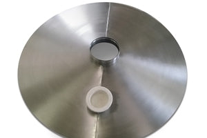 Stainless Steel Domed Cover with Inspection Cap - ScreenerKing®