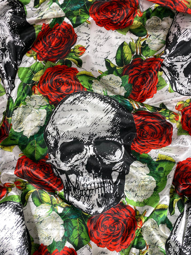 Large Skull and Roses