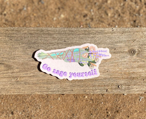 Sage Yourself Stickers