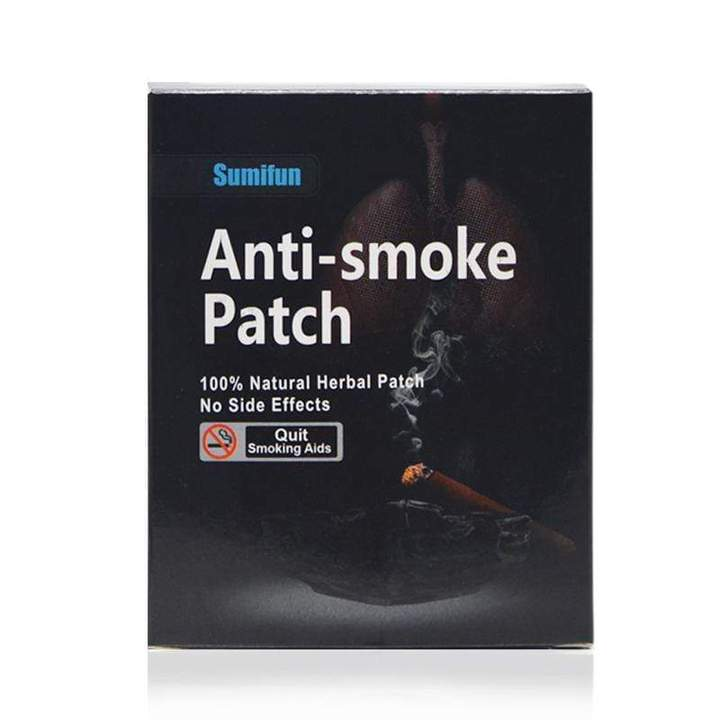 Anti-Smoke Patch by Sumifun™ - (35 patches/Box)