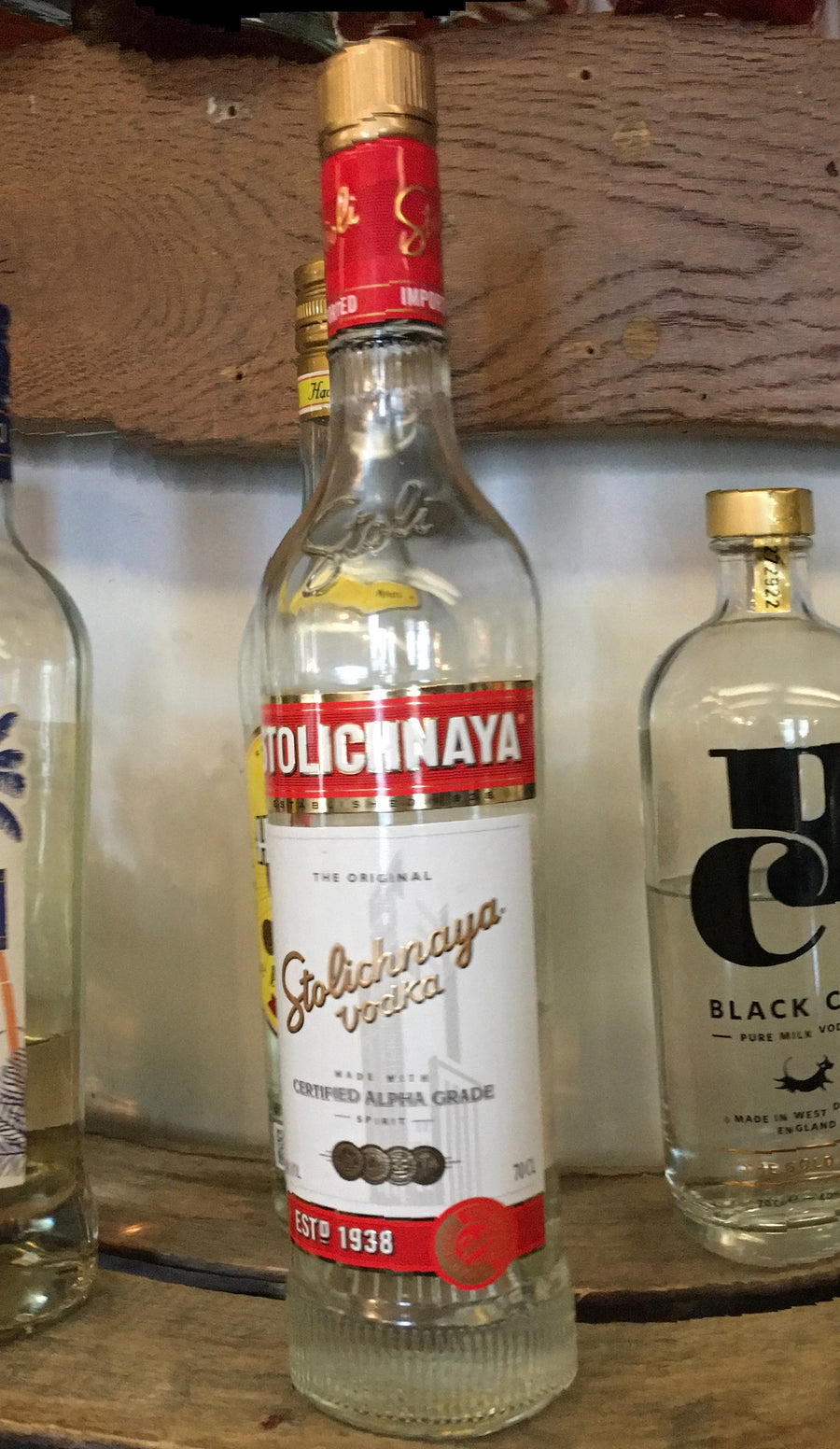 Stolichnaya Alpha Grade Russian Vodka
