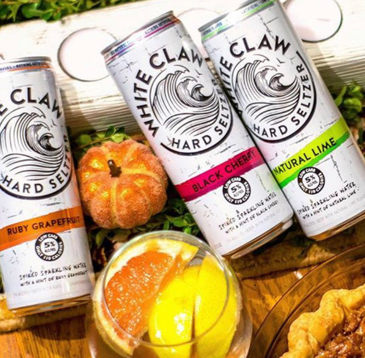 White Claw Hard Soda