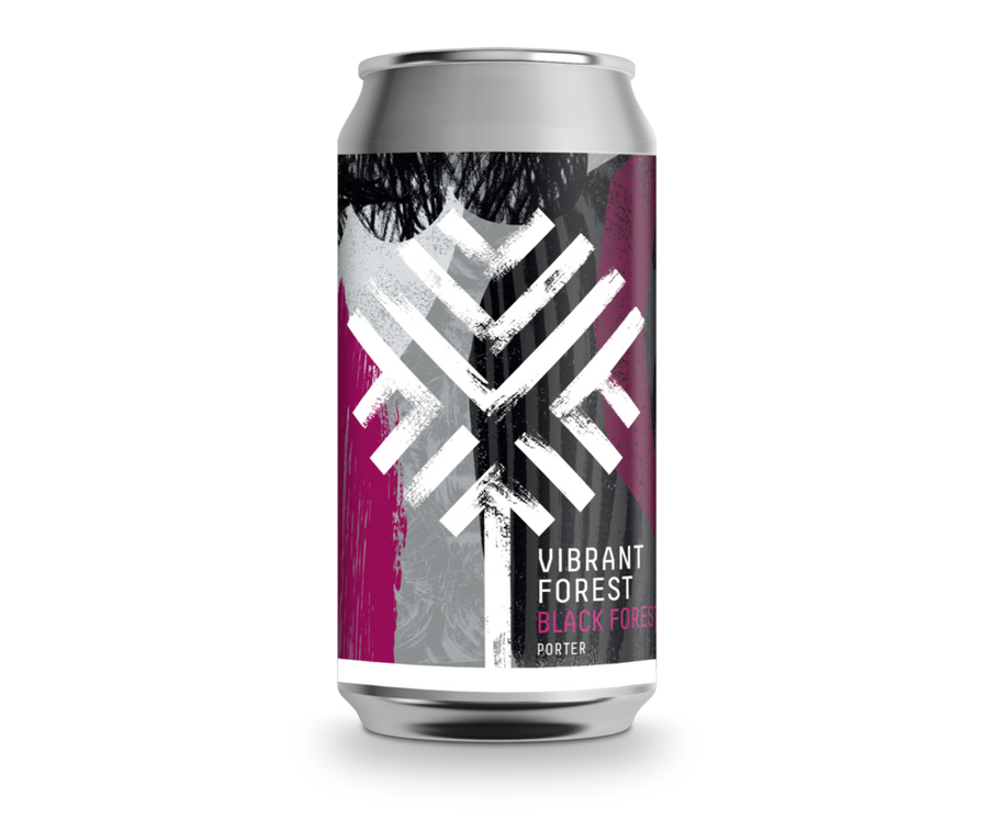 Vibrant Forest Black Forest Porter 440ml Can