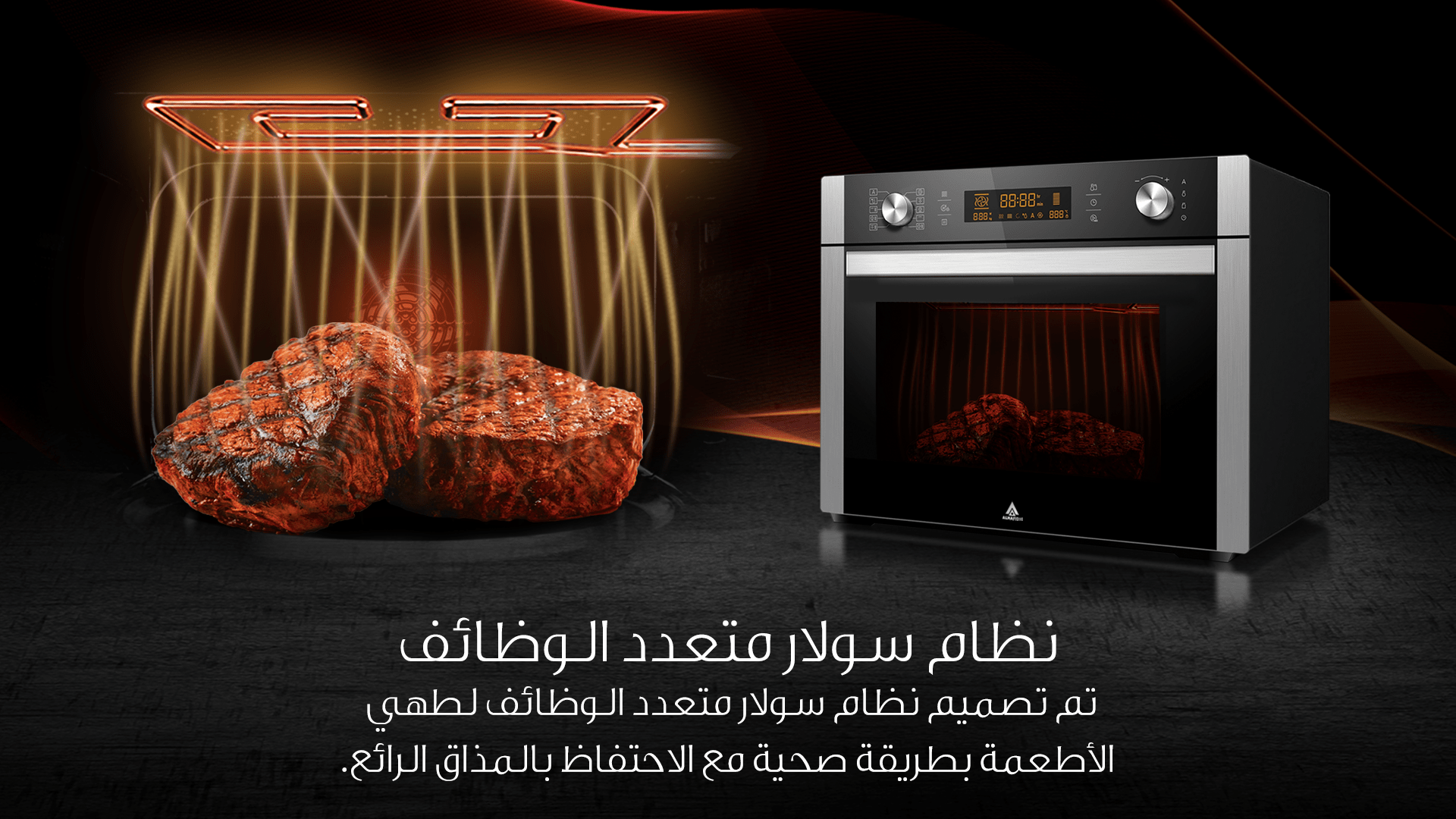 Solar Dome Microwave Oven