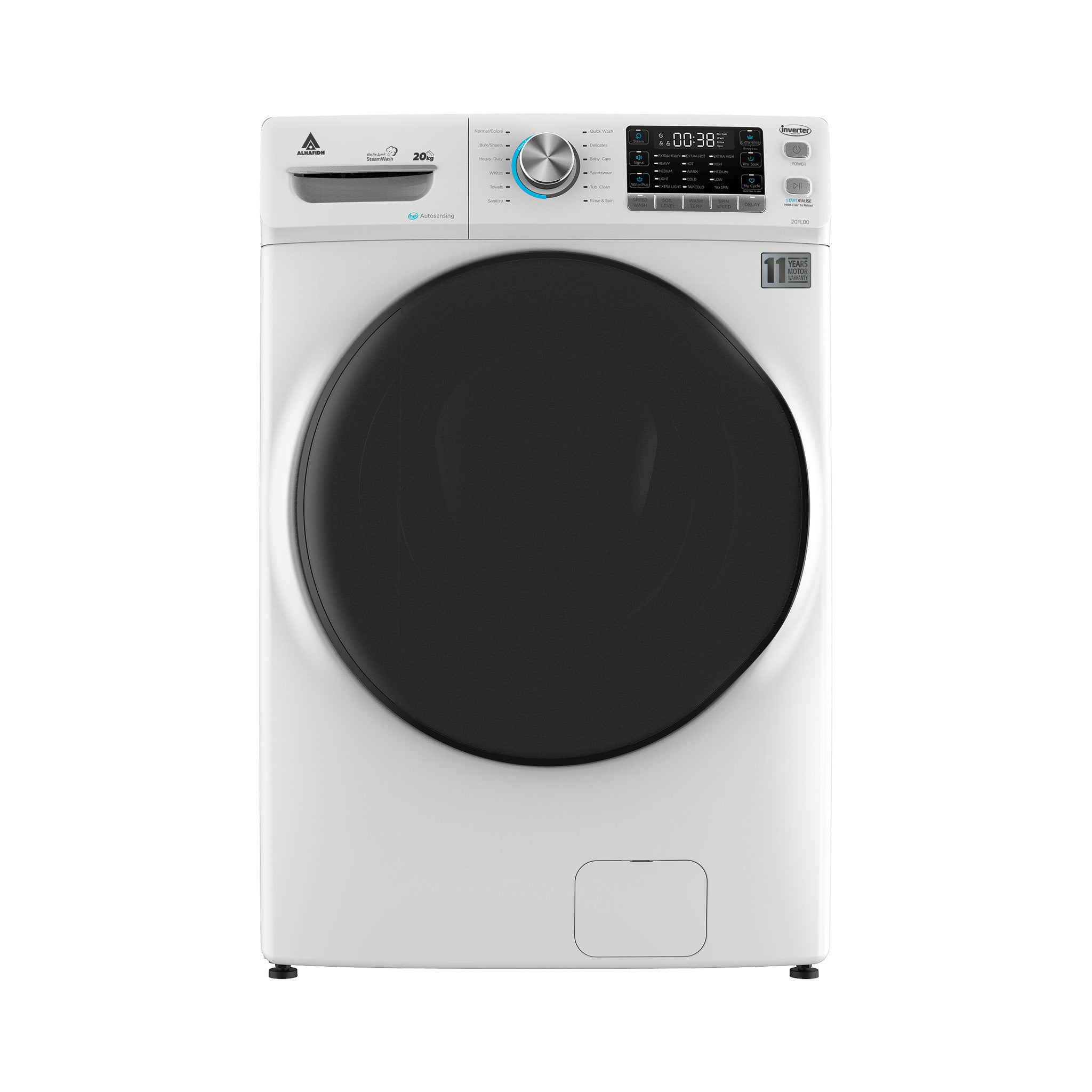20KG Front Loading Washing Machine