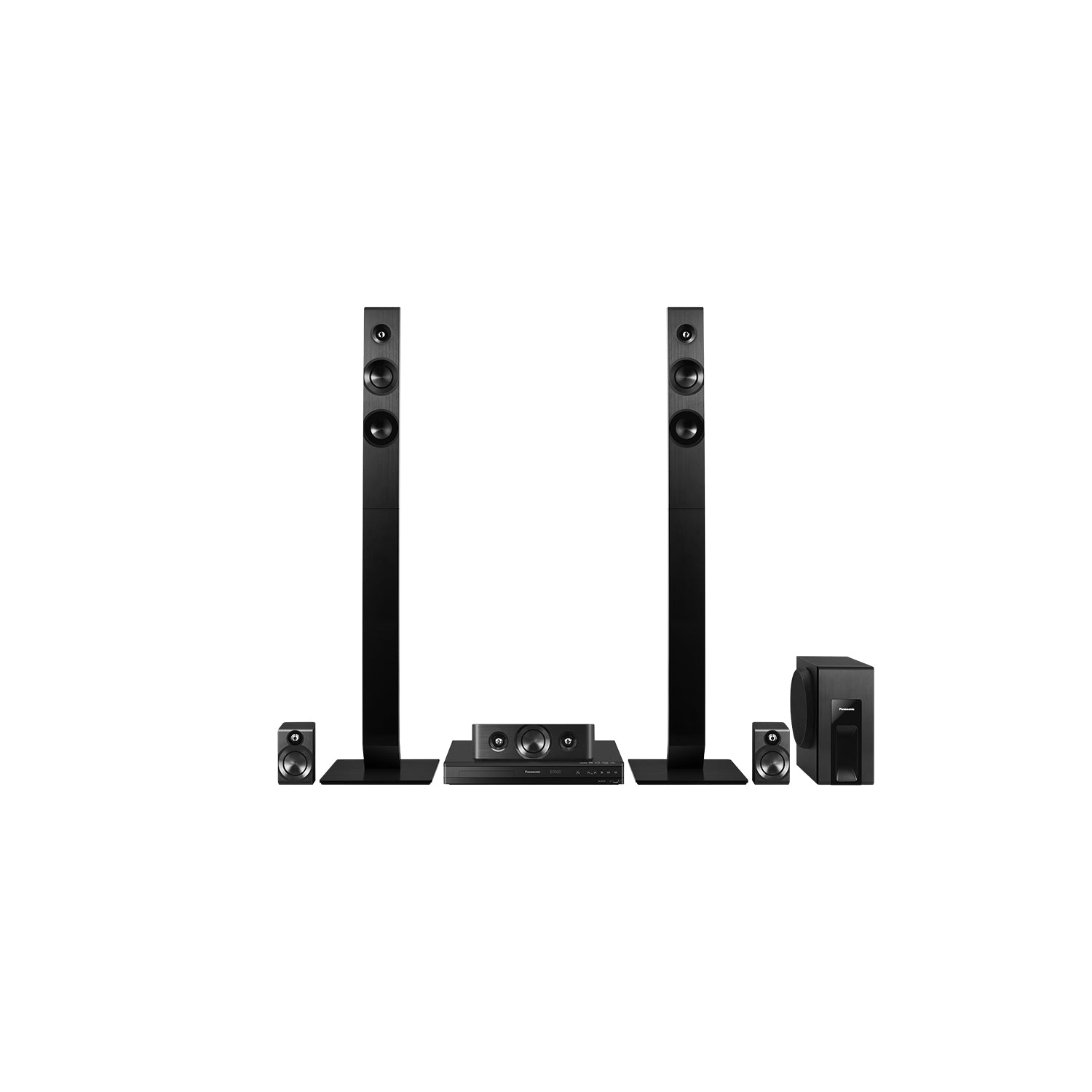 300W 5.1CH DVD Home Theater System