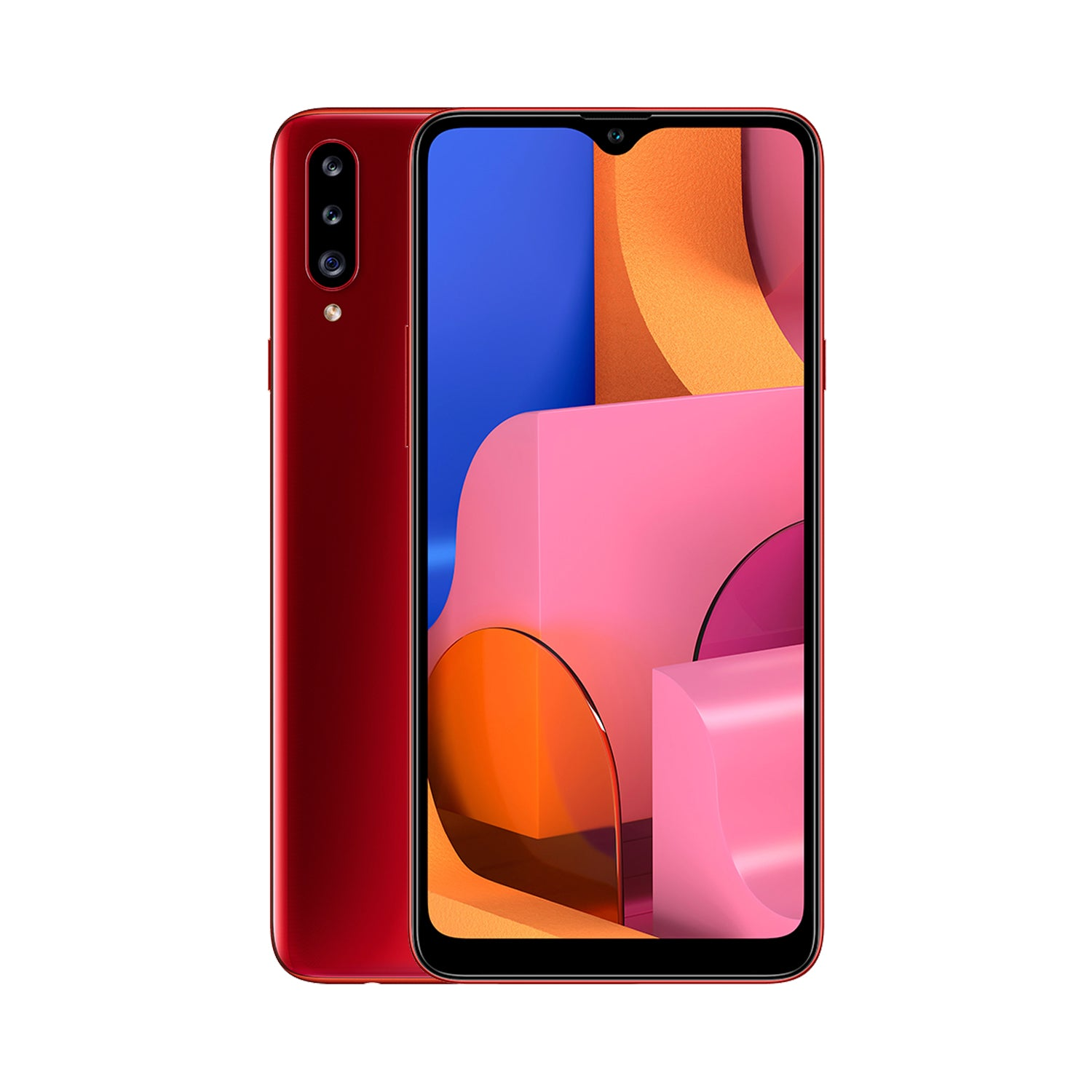 Galaxy A20S Red