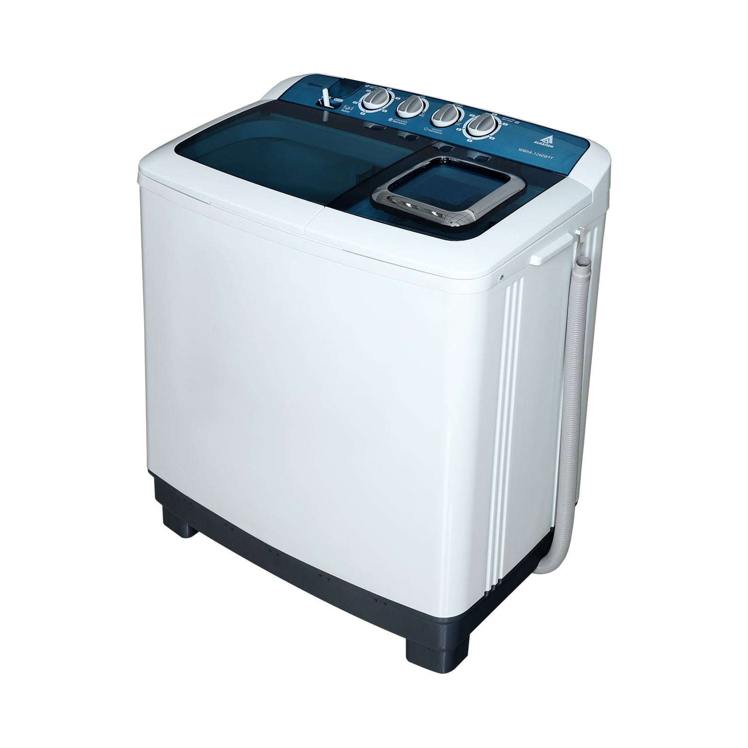 ALHAFIDH 12KG Twin Tub Washing Machine WMHA-1240WTT