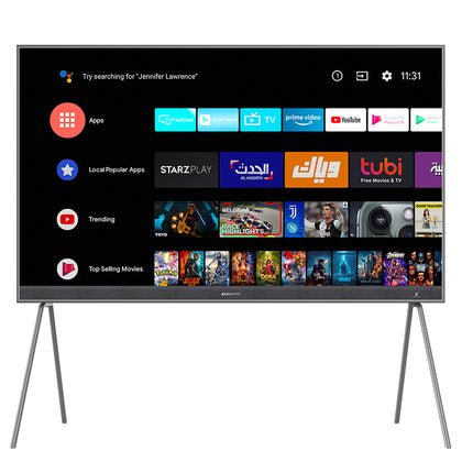 86-inch QLED 4K UHD Smart Android TV (2021)