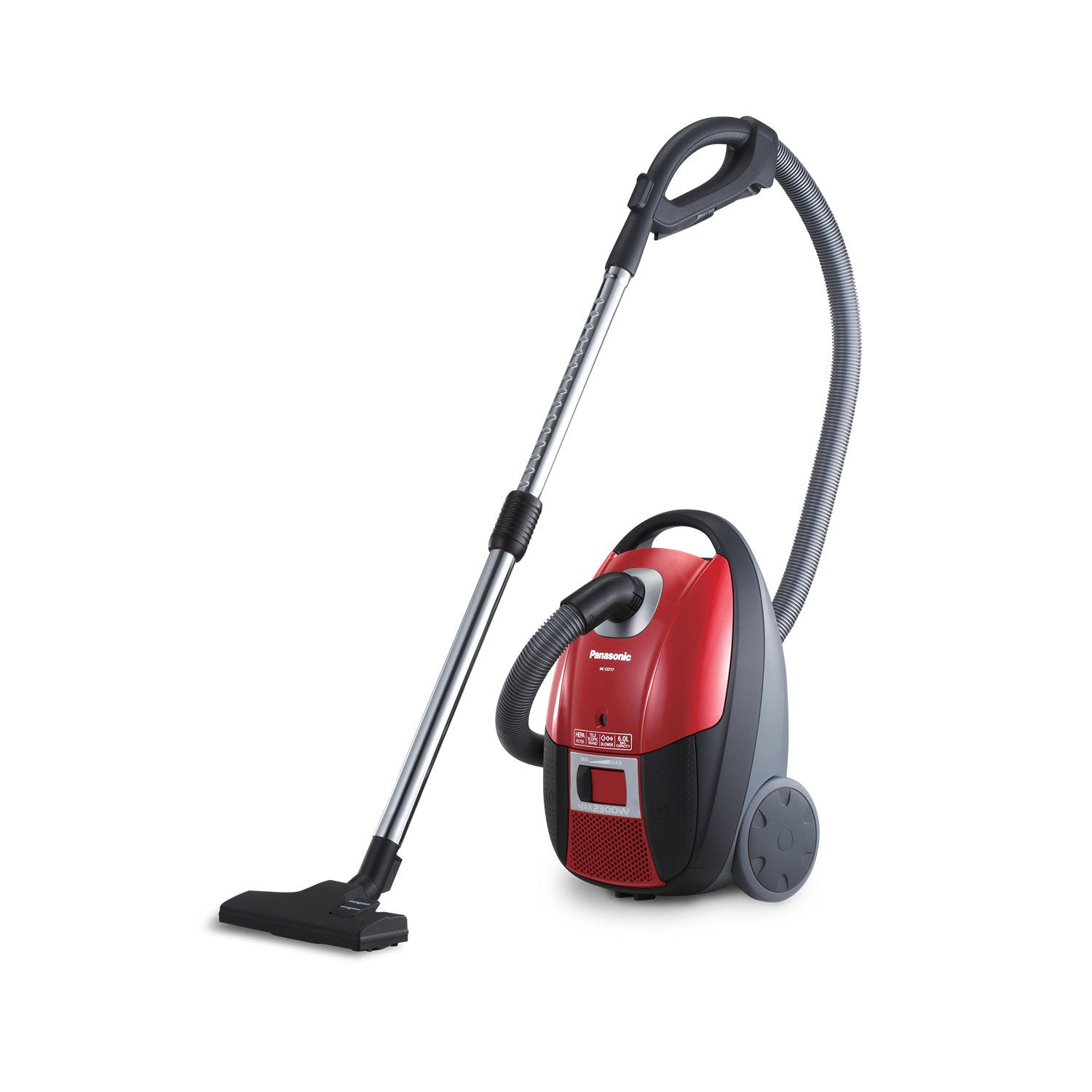 2300W Bagged Canister Vacuum Cleaner 6L