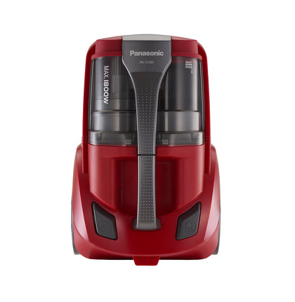 1800W Bagless Canister Vacuum Cleaner 2L